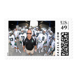 ANNAPOLIS,MD - AUGUST 22:  Head coach Jim Mule Postage Stamps