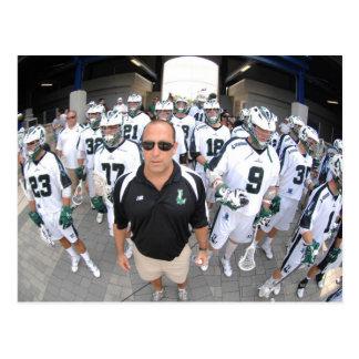 ANNAPOLIS,MD - AUGUST 22:  Head coach Jim Mule Postcard