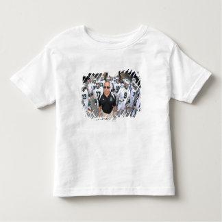 ANNAPOLIS,MD - AUGUST 22:  Head coach Jim Mule Toddler T-shirt
