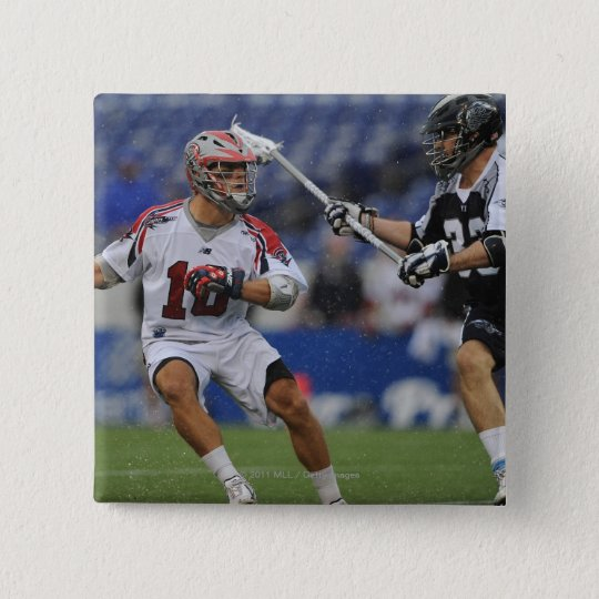 ANNAPOLIS, MD - AUGUST 27: Brad Ross #10 Button