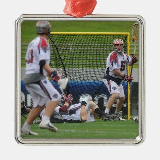 ANNAPOLIS, MD - AUGUST 27: Jordan Burke #5 Metal Ornament