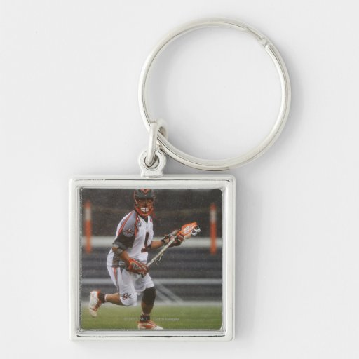 ANNAPOLIS, MD - AUGUST 27:  Kevin Unterstein #0 Silver-Colored Square Keychain