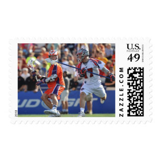 ANNAPOLIS, MD - AUGUST 28:  Casey Powell #7 2 Postage