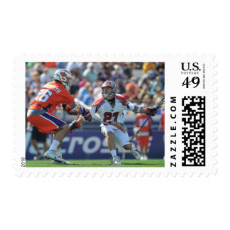 ANNAPOLIS, MD - AUGUST 28:  Kevin Buchanan #27 2 Postage Stamp