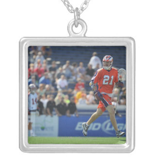 ANNAPOLIS, MD - AUGUST 28:  Kevin Crowley #21 Silver Plated Necklace