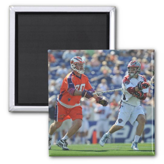 ANNAPOLIS, MD - AUGUST 28:  Mike Stone #41 2 2 Inch Square Magnet