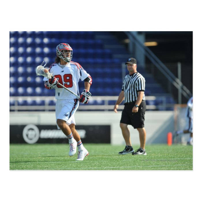 ANNAPOLIS, MD - AUGUST 28:  Paul Rabil #99 6 Postcard