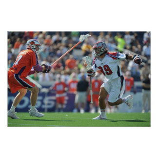 ANNAPOLIS, MD - AUGUST 28:  Paul Rabil #99 Poster
