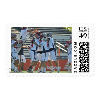 ANNAPOLIS, MD - AUGUST 28:  The Boston Cannons 3 Stamp