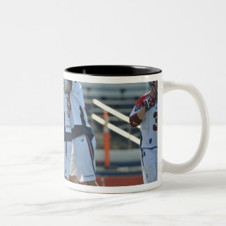 ANNAPOLIS, MD - AUGUST 28:  The Boston Cannons 3 Two-Tone Coffee Mug