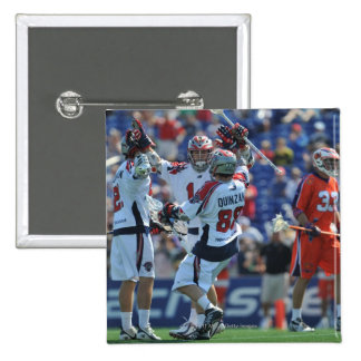 ANNAPOLIS, MD - AUGUST 28:  The Boston Cannons 4 Button
