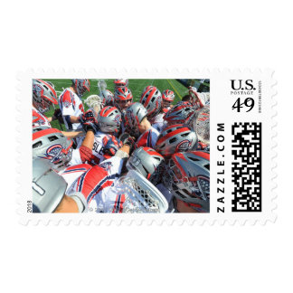 ANNAPOLIS, MD - AUGUST 28:  The Boston Cannons 5 Stamp