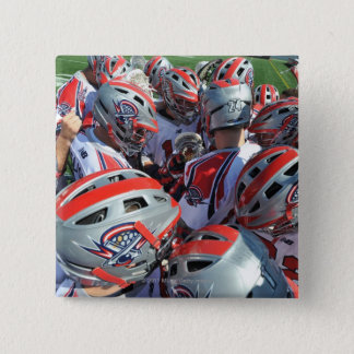 ANNAPOLIS, MD - AUGUST 28:  The Boston Cannons Button