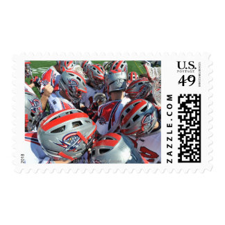 ANNAPOLIS, MD - AUGUST 28:  The Boston Cannons Postage