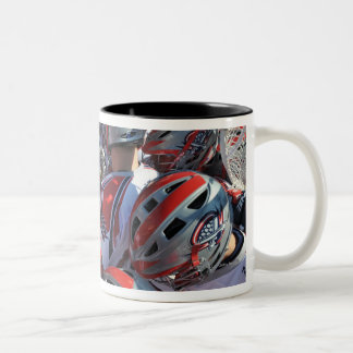 ANNAPOLIS, MD - AUGUST 28:  The Boston Cannons Two-Tone Coffee Mug