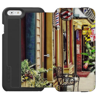 Annapolis MD - Barbershop And Reiki Studio iPhone 6/6s Wallet Case