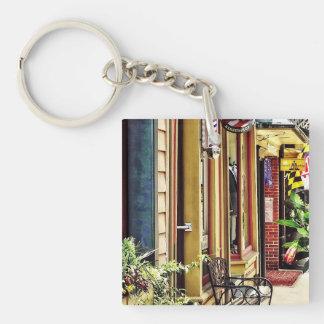Annapolis MD - Barbershop And Reiki Studio Keychain