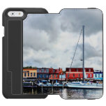 Annapolis Md - City Dock iPhone 6/6s Wallet Case