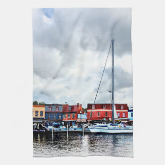 Annapolis Md - City Dock Kitchen Towel