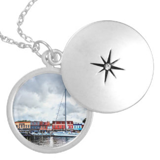 Annapolis Md - City Dock Locket Necklace