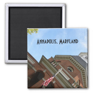 Annapolis, MD courthouse magnet
