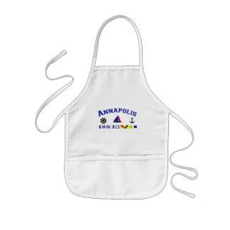 Annapolis, MD Delantal Infantil