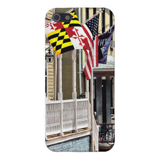 Annapolis MD - Flags Along East Street Case For iPhone SE/5/5s