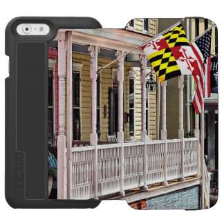 Annapolis MD - Flags Along East Street iPhone 6/6s Wallet Case