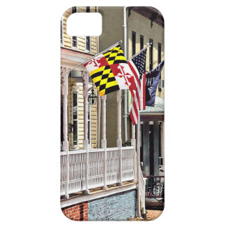 Annapolis MD - Flags Along East Street iPhone SE/5/5s Case