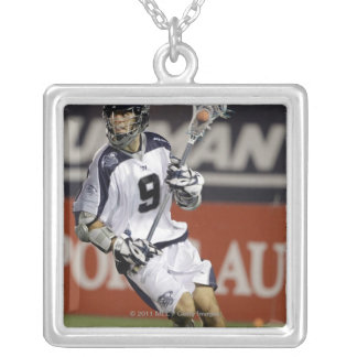 ANNAPOLIS, MD - JULY 02:  Danny Glading #9 2 Square Pendant Necklace