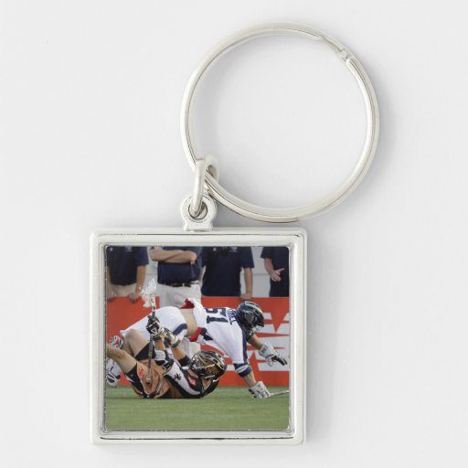 ANNAPOLIS, MD - JULY 02:  Michael Kimmel #51 2 Silver-Colored Square Keychain