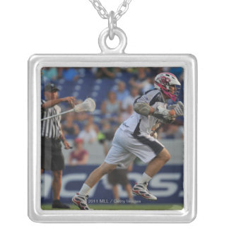 ANNAPOLIS, MD - JULY 23:  Alex Smith #5 3 Square Pendant Necklace