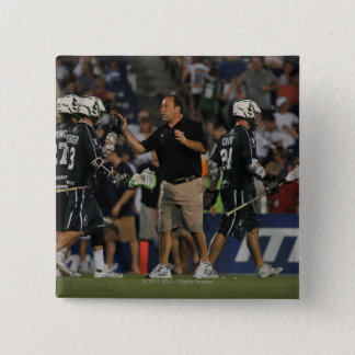 ANNAPOLIS, MD - JULY 23:  Head coach Jim Mule 2 Pinback Button