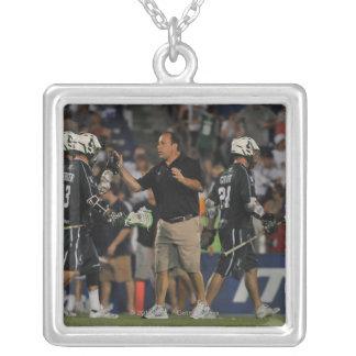 ANNAPOLIS, MD - JULY 23:  Head coach Jim Mule 2 Square Pendant Necklace