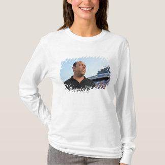 ANNAPOLIS, MD - JULY 23:  Head coach Jim Mule T-Shirt