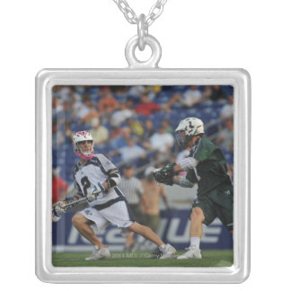 ANNAPOLIS, MD - JULY 23:  Justin Smith #2 Silver Plated Necklace