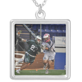 ANNAPOLIS, MD - JULY 23:  Ryan Young #27 3 Square Pendant Necklace