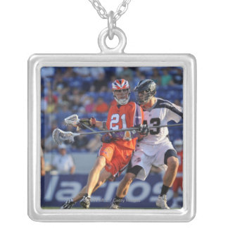 ANNAPOLIS, MD - JULY 30:  Kevin Crowley #21 2 Silver Plated Necklace