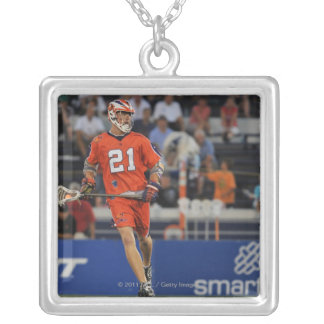 ANNAPOLIS, MD - JULY 30:  Kevin Crowley #21 3 Silver Plated Necklace