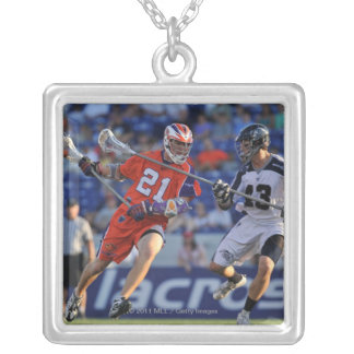 ANNAPOLIS, MD - JULY 30:  Kevin Crowley #21 4 Silver Plated Necklace