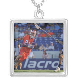 ANNAPOLIS, MD - JULY 30:  Kevin Crowley #21 5 Silver Plated Necklace