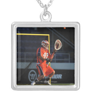 ANNAPOLIS, MD - JULY 30:  Scott Rogers #42 Silver Plated Necklace
