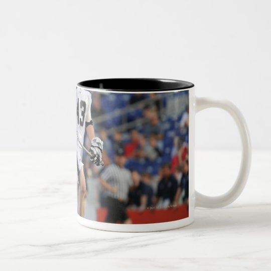 ANNAPOLIS, MD - JUNE 25:  Barney Ehrmann #43 2 Two-Tone Coffee Mug