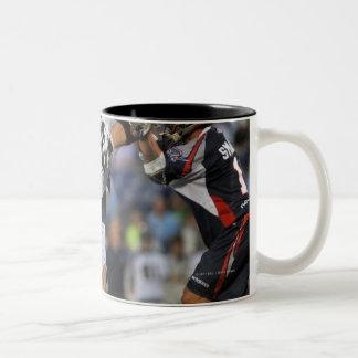 ANNAPOLIS, MD - JUNE 25:  Dan Hardy #22 12 Two-Tone Coffee Mug