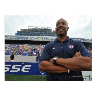 ANNAPOLIS, MD - JUNE 25:  Head coach Billy Day Postcard