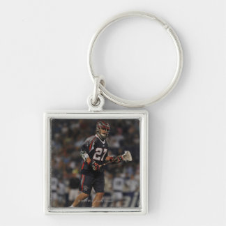 ANNAPOLIS, MD - JUNE 25:  Kevin Buchanan #27 2 Silver-Colored Square Keychain