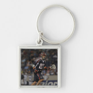 ANNAPOLIS, MD - JUNE 25:  Kevin Buchanan #27 3 Silver-Colored Square Keychain