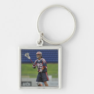 ANNAPOLIS, MD - JUNE 25:  Paul Rabil #99 11 Silver-Colored Square Keychain