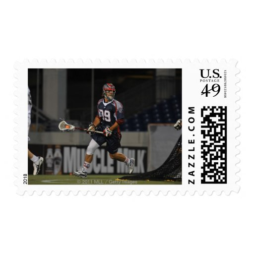ANNAPOLIS, MD - JUNE 25:  Paul Rabil #99 5 Postage Stamps