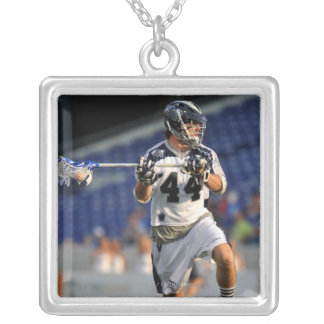 ANNAPOLIS, MD - JUNE 25:  Steven Brooks #44 5 Silver Plated Necklace